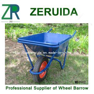 Galvanized European Wheel Barrow (WB4024A) pictures & photos
