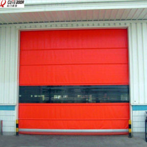 Industrial Clean up Interlocking System Fast Automatic Shutter Door pictures & photos