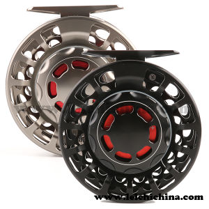 Machine Cut Saltwater Aluminium CNC Fly Fishing Reel Made in China pictures & photos