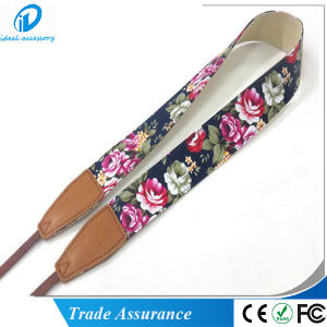 Fast Shipping New Fashion Flower Cloth Digital Camera Shoulder Rope Strap pictures & photos