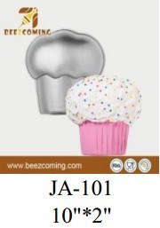 Bakeware Lovely&Superior Quality and Attractive Prices DIY Aluminium Cake Decorating Mould--Ice Cream