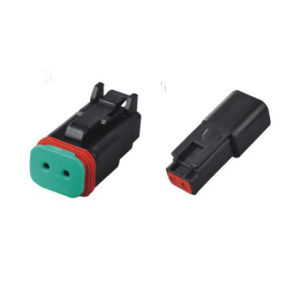 High Performance Dt Series Waterproof Connecting Deutsch Connector Dt06-2s-E004 pictures & photos