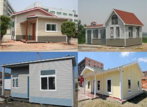 Low Cost Cheap Prefabricated House with Bath Kitchen Living Room pictures & photos