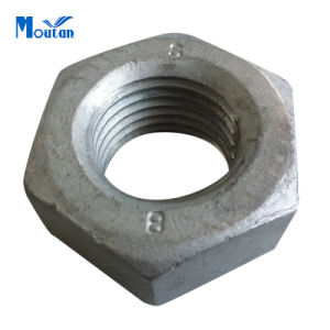 Zinc Plated Carbon Steel Hexagon Head Nuts pictures & photos