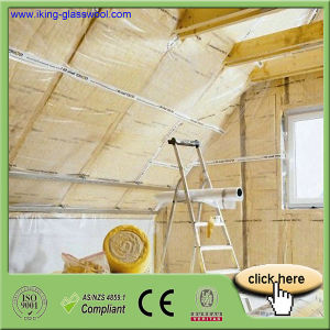 Isoking Heat Insulation Fiber Glass Wool pictures & photos