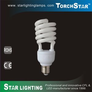 4100k Pure White 30W CFL T3 Full Spiral 1950lm pictures & photos