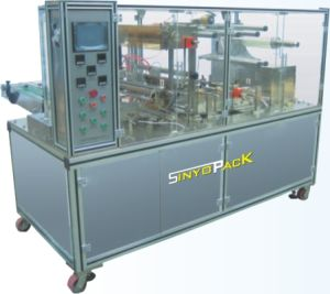 Different Size Cosmetics Adjustable Cellophane Tri-Dimensional Overwrapping Machine pictures & photos