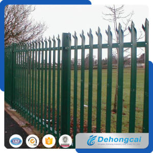 Power Coated Security Wrought Iron Fence From China pictures & photos