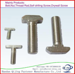 T Head Bolt Galvanized Ot Stainless Steel pictures & photos