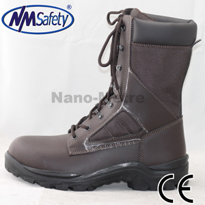 Nmsafety OEM Genuine Leather High Cut Safety Boots pictures & photos
