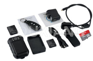 Infrared Waterproof Police Video Body Worn Camera with TF Card pictures & photos
