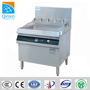 Restaurant Large Power Freestanding Induction Griddle pictures & photos