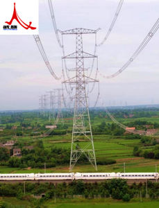 2017 China Best Quality Transmission Line Steel Pipe Tower pictures & photos