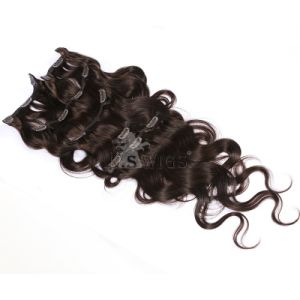 Top Virgin Remy Clip in Human Hair Extension pictures & photos