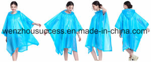 Different Colors Nylon or Polyester Fabric Rain Poncho pictures & photos