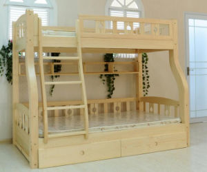 Solid Wooden Bed Room Bunk Beds Children Bunk Bed (M-X2204) pictures & photos
