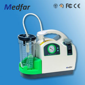 Portable Phlegm Suction Unit CE Quality Mf-X-600A pictures & photos