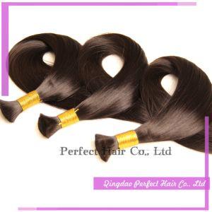 Virgin Human Hair Indian 100% Cheap Human Hair Bulk pictures & photos