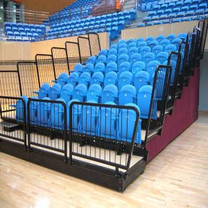 Luxe Telescopic Seating Sports Games Audience Seating /Retractable Seating (Luxe)