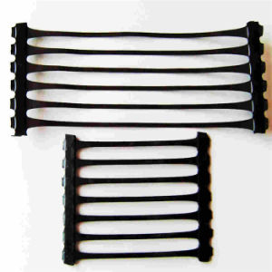 High Quality PP One-Way Plastic Geogrid pictures & photos