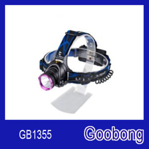 High Power CREE T6 LED Rechargeable Headlamp pictures & photos
