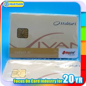 Hotel Access Control SLE4442 contact chip IC Card pictures & photos