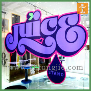 Customed Removable Static Film Sticker for Decoration (TJ-003) pictures & photos
