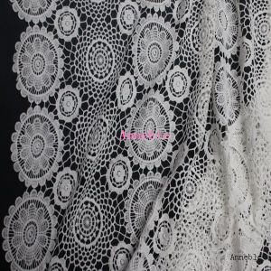 New Design Fashion Lace Fabric for Garment