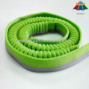 Jacquard Elastic Safety Belt Webbing for Bungee Jumping pictures & photos