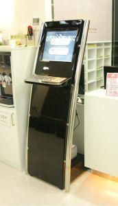 Touch Kiosk for Bank
