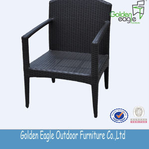 Simple PE Wicker Outdoor Dining Chairs