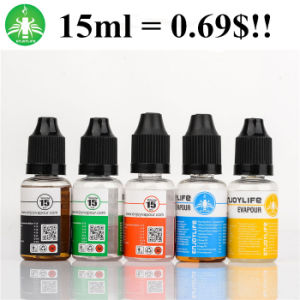 Hot Sale E Cig Liquid UK Standard Eliquid Best 15ml E Juice From Enjoylife Manufacturer pictures & photos