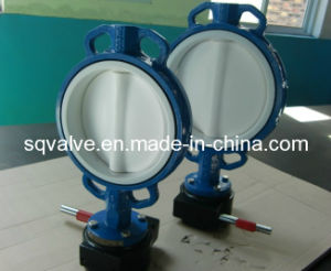 PTFE Lined Wafer Type Butterfly Valve