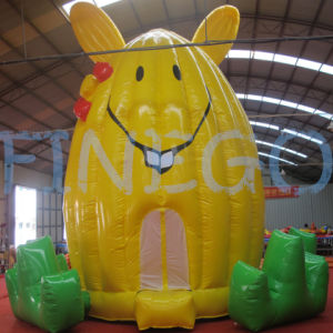 Funny Cute Inflatable Moonwalk Bounce House Jumpers for Kids pictures & photos