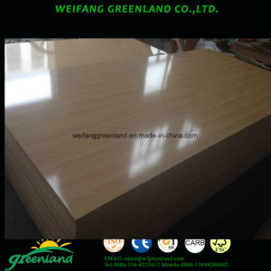 Embossed Finished Laminated MDF pictures & photos