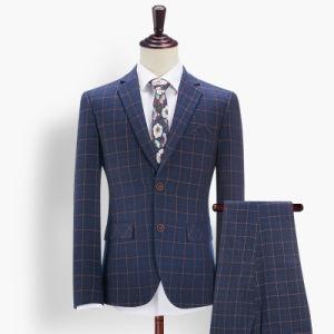 Fashion Checks Bespoke Tailor Mans Suits pictures & photos