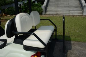 4 Seaters Good Quality Electric Golf Car with Rear Seat pictures & photos