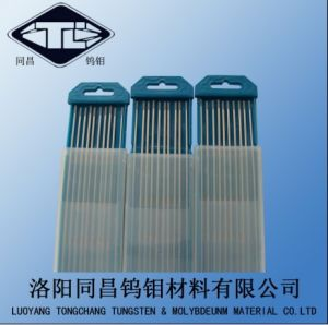 ISO9001 W-1 Tungsten Welding Electrodes Wce20 Dia2.4*175 pictures & photos