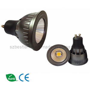 7W GU10 with COB LED pictures & photos