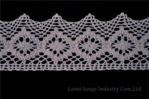 Fashion Cotton Crochet Lace for Home Textile pictures & photos