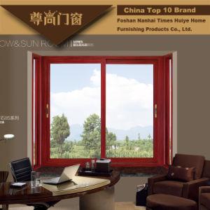 Aluminium/Aluminum Sliding Windows with Tempered/Toughened Glazing pictures & photos