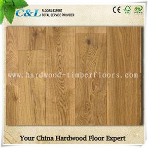 Wide Plank European Oak Engineered Flooring pictures & photos