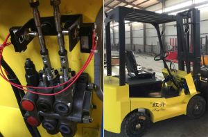 ZCDB Hydraulic Pump Directional Control 4 Spool Valve Crawler Loader pictures & photos