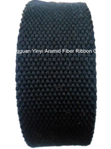 45mm Black Special Aramid Fiber Webbing for Fire Safety Clothing pictures & photos