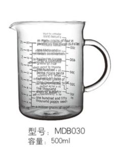 Glass Cup / Chemical Cup / Glassware / Measure Mug pictures & photos