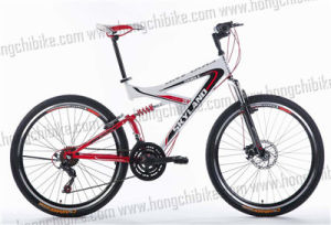 Alloy Frame MTB Bike Full Suspension Bicycle with High Bumper (HC-TSL-MTB-70366) pictures & photos