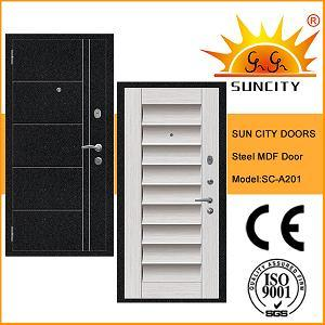 New Style Security MDF Steel Door Exterior (SC-A201) pictures & photos