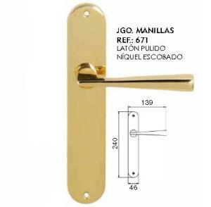 Brass Door Handle Furniture Handle - 671 pictures & photos