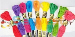 100% Cotton Cross-Stitching Embroidery Thread for Embroidery pictures & photos