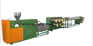Plastic Circle Thread Extrusion Line (SJ-YLS95/110-180) pictures & photos